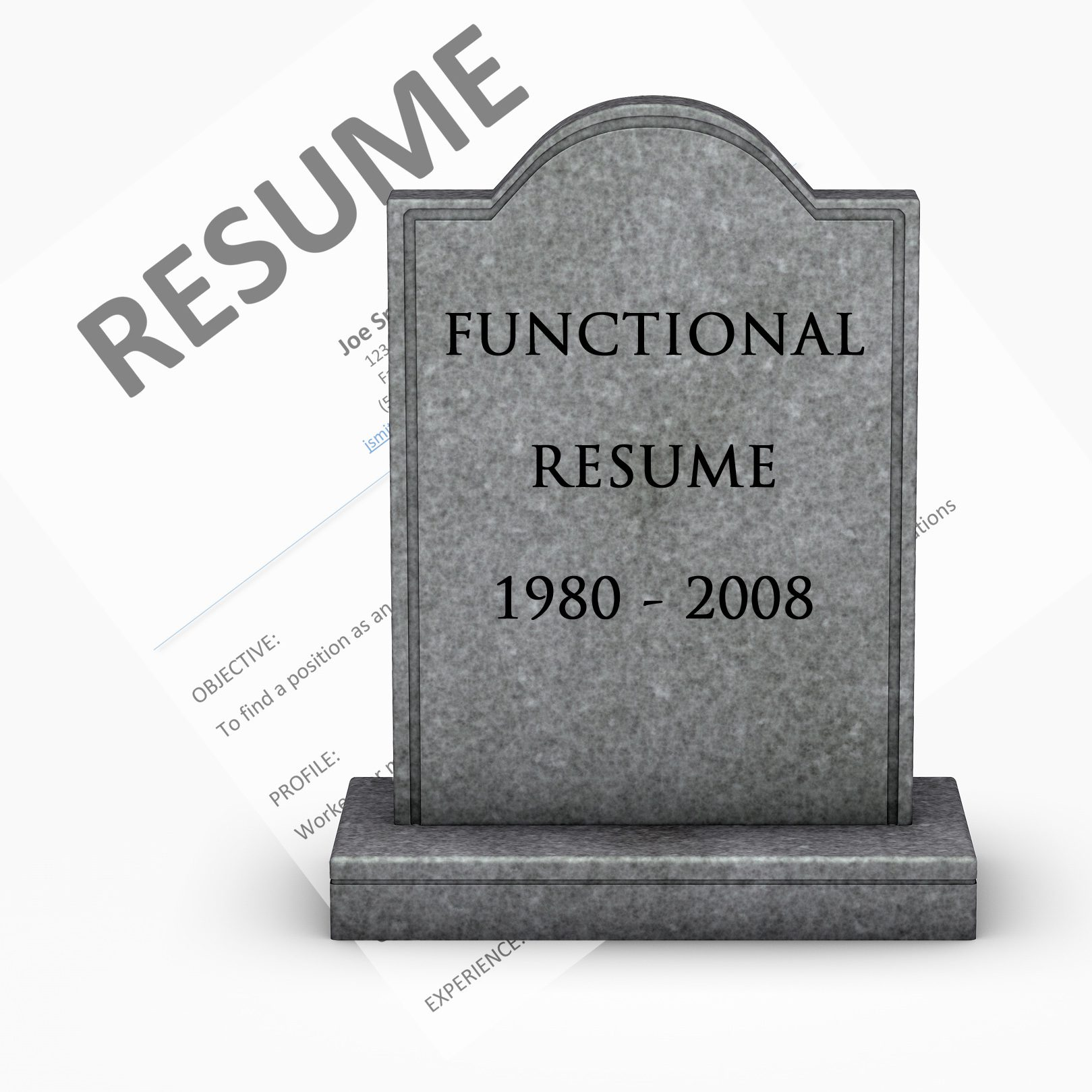 The functional resume is dead