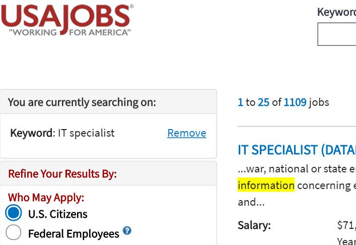 difference between contractor it specialist resume and