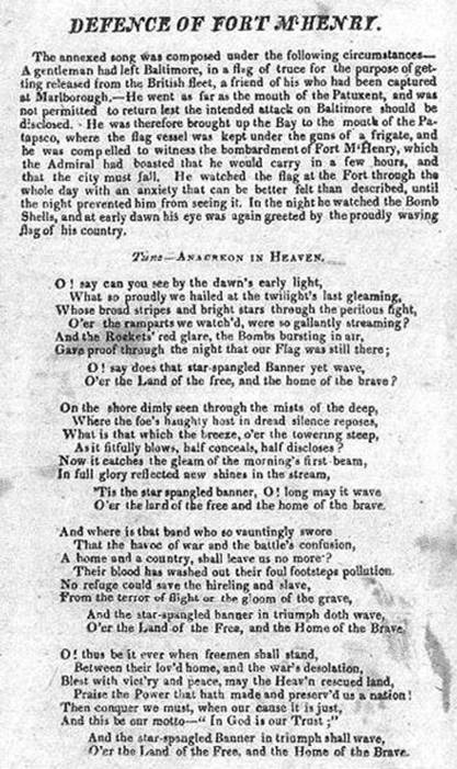 Defence of our Nation, Patrick Henry