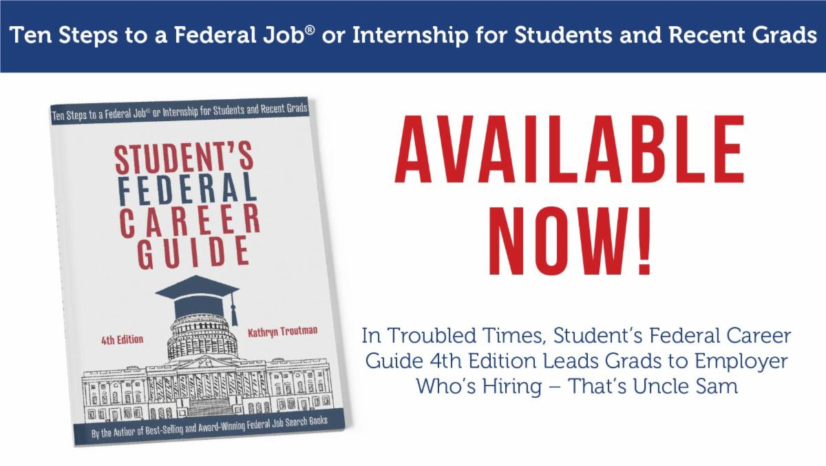 Introducing The Student S Federal Career Guide 4th Edition